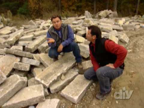 Stack Your Own Stone Wall-DIY