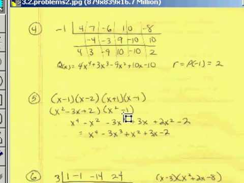 Polynomial Division 3