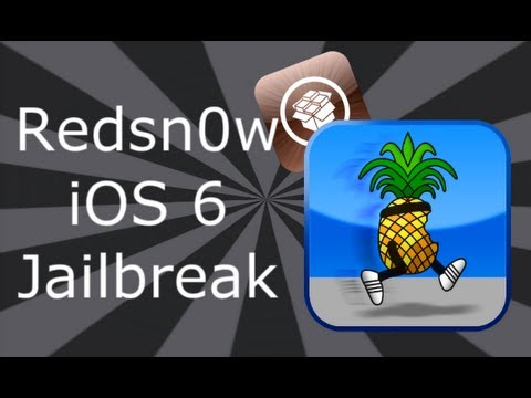 NEW iOS 6 Jailbreak With Cydia For iPhone 4, 3GS & iPod Touch 4
