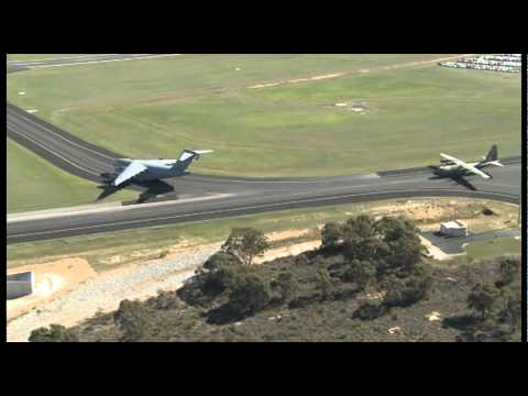 Raw footage from the Defence Air Show RAAF Pearce