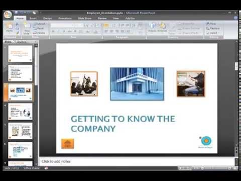 PowerPoint 2007: Indention and Line Spacing Part 1