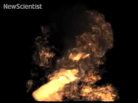 Simulating the sound of fire