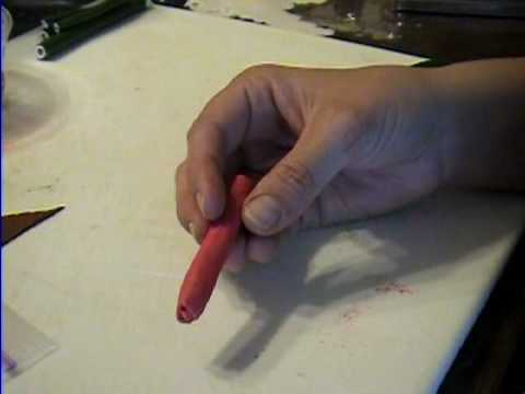 Tomato Cane How to Make from Polymer Clay by Garden of Imagination