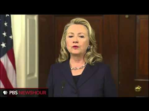 Secretary Clinton's Statement About Killings at Libyan Consulate
