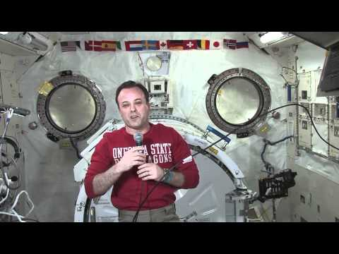 New York Students Call Garan on ISS