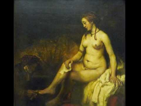 Rembrandt van Rijn, Bathsheba at Her Bath, 1654