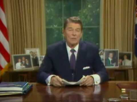 President Reagan's television address on the Iran-Contra Affair - 1987