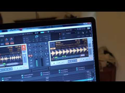 TRAKTOR SCRATCH PRO.  video 6, the information icon