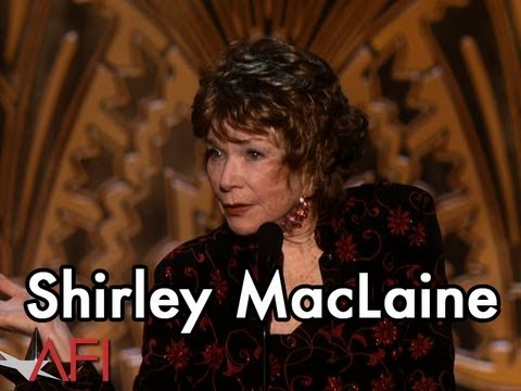 Shirley MacLaine Accepts the 40th AFI Life Achievement Award