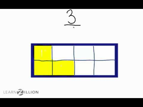 Write fractions using shapes (2) - 3.NF.1