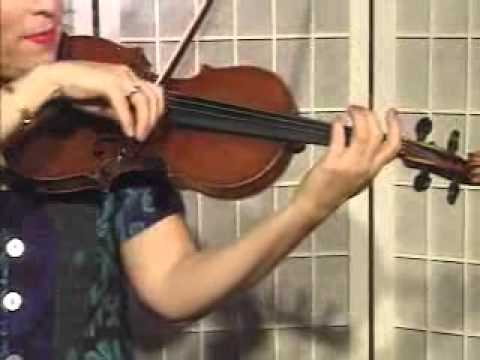 Violin Lesson - How To Play Danman's Print Library # 85, Tune on a G String