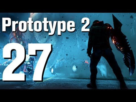 Prototype 2 Walkthrough Part 27 - Fall From Grace 1 of 2 [No Commentary / HD / Xbox 360]
