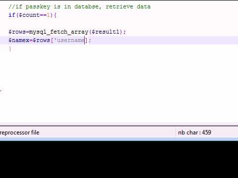 PHP Tutorial - 33 - Getting Temporary Data for PHP Game
