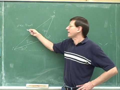 Physics: Vector components (2)