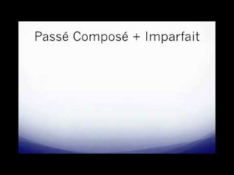 STS: Passe Compose et Imparfait by Christina MST