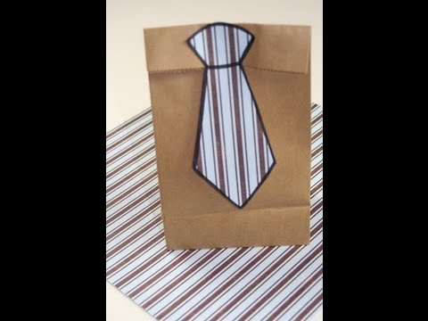Neck Tie Gift Bag | Gift Ideas