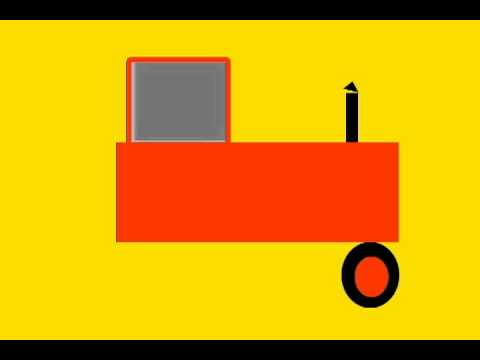 Vids4Kids.tv - Learn Shapes And Build A Tractor