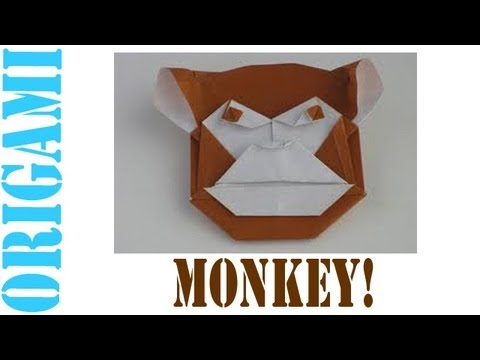 Origami Daily - 300: Monkey - TCGames [HD]