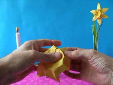Origami Narcissus Flower