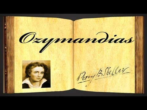 Ozymandias by Percy Bysshe Shelley - Poetry Reading