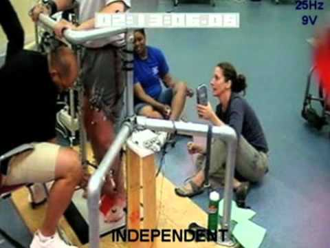 Paralysed man regains control of his legs