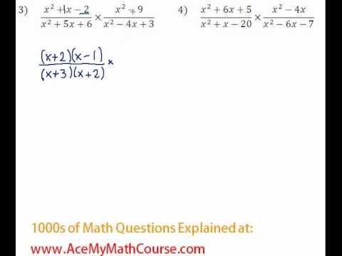 Rationals - Multiplying & Dividing Rationals Question #3