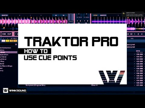 Traktor Pro: How To Use Cue Points | WinkSound