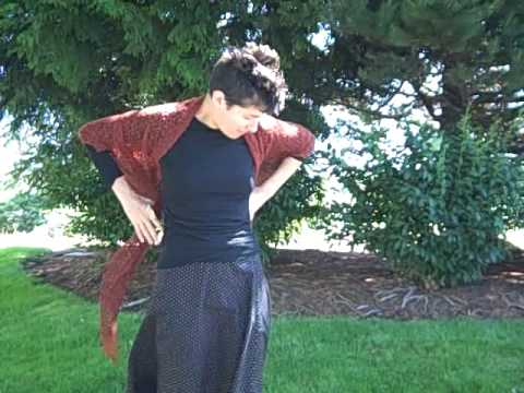 Wearing Lace Shawls