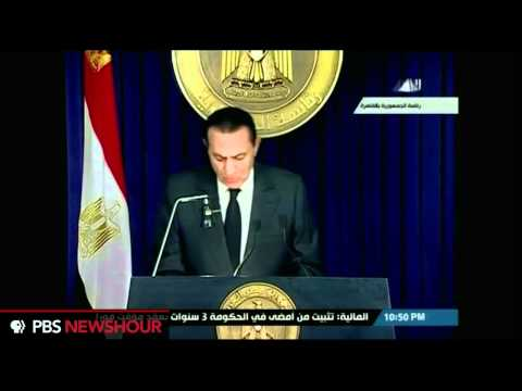 President Hosni Mubarak Addresses Egypt (ARABIC)
