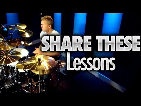 Share These Drum Lessons (Pay It Forward)