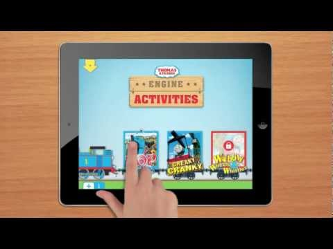 Thomas & Friends: All New App! Engines Activities