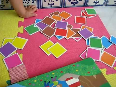 Toddler - Math. Colors in book game