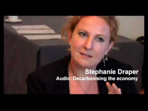 Stephanie Draper  Decarbonising the economy