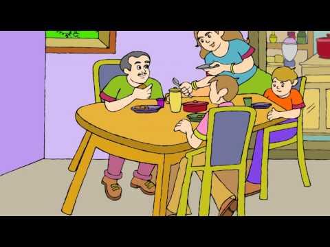 Thank you God - English Cartoon Nursery Rhymes