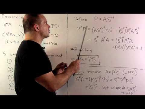 Positive Semi-Definite Matrix 3: Factorization of Invertible Matrices