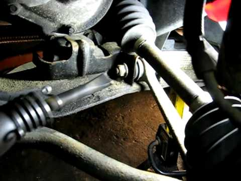 Removing Rusted Control Arm Bolts