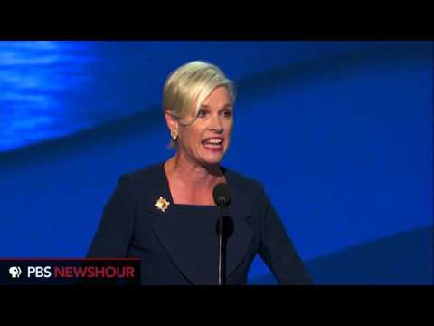 Planned Parenthood President Cecile Richards Address Democratic Convention