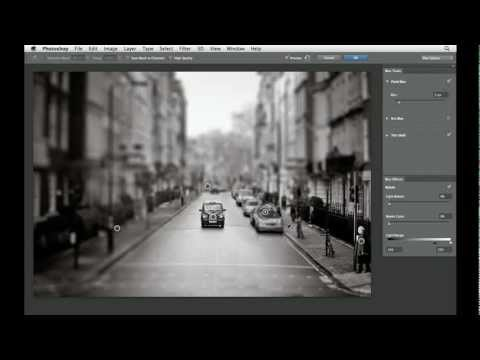 Photoshop CS6: Working with the Tilt-Shift blur | lynda.com tutorial