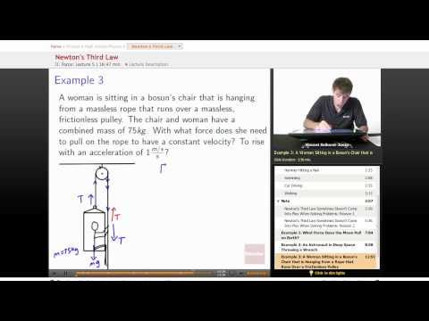 Physics: Newton's Third (3rd) Law