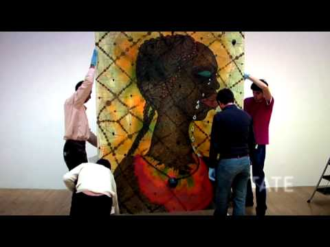 No Woman, No Cry by Chris Ofili
