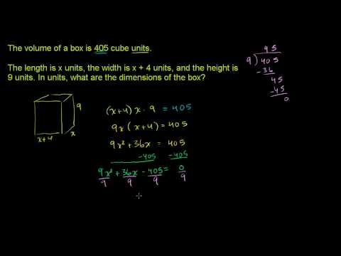 Solving Quadratic Equations by Factoring 3.avi