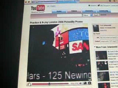 Practies and n joy London October 2008