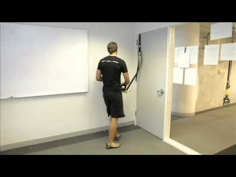 TRX® Door Anchor™ Upper Body Workout