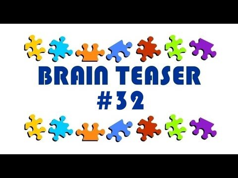 Video Brain Teaser #32