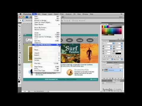 Photoshop: Saving a custom web workspace | lynda.com