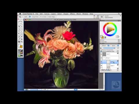 Painter, Wacom: Painting from a photo | lynda.com