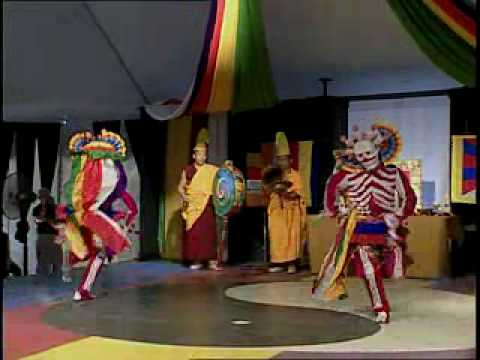 Tibetan Skeleton Dance from the 2002 Smithsonian Folklife Festival