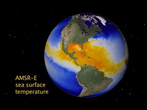 NASA | Aqua's AMSR-E Scans Earth's Water Cycle