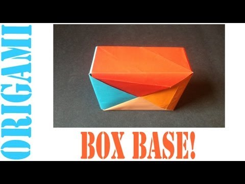 Origami Daily - 010: Square Box Base (Pinwheel - Ver. 1) - TCGames [HD]