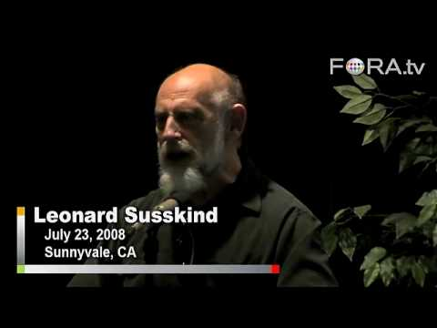Physicist Leonard Susskind Rejects Intelligent Design